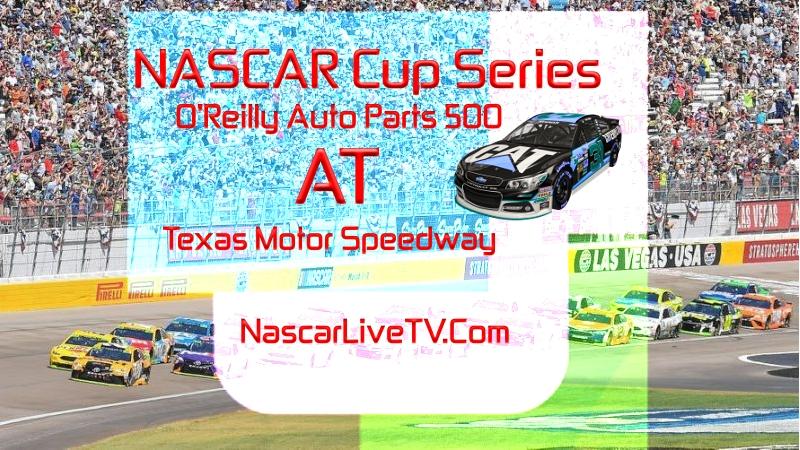 O Reilly Auto Parts 500 NASCAR Texas 2020 Race Live Stream