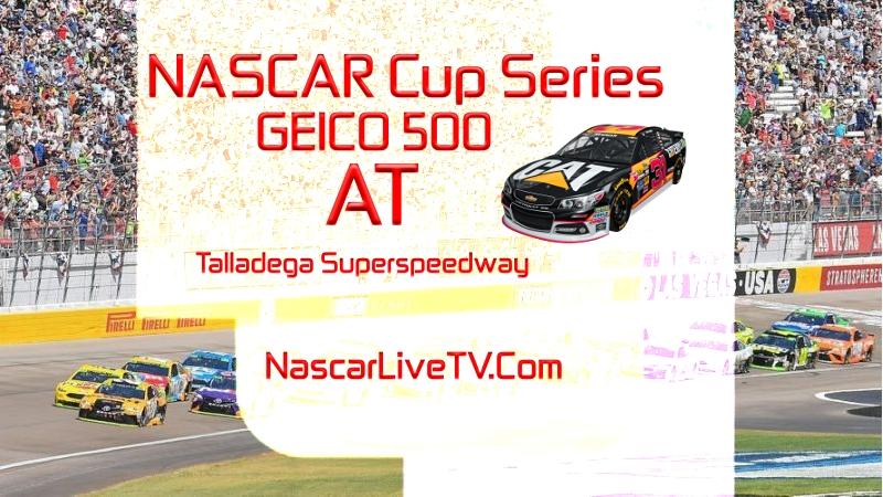 GEICO 500 NACAR Talladega 2020 Race Live Stream