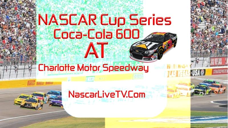 NASCAR Coca-Cola 600 Charlotte 2020 Race Live Stream
