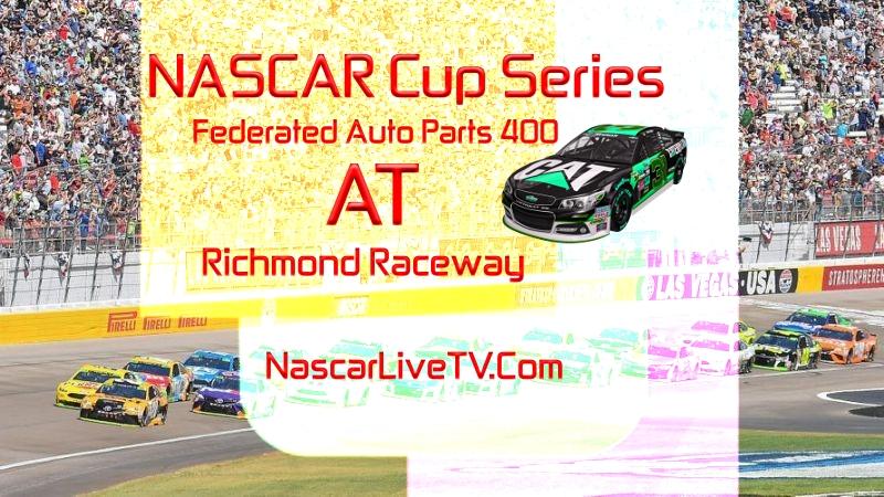 Federated Auto Parts 400 NASCAR Live Stream