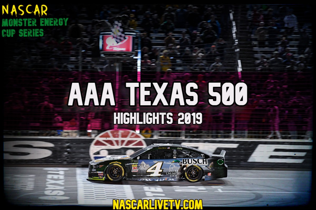 AAA Texas 500 NASCAR Highlights 2019