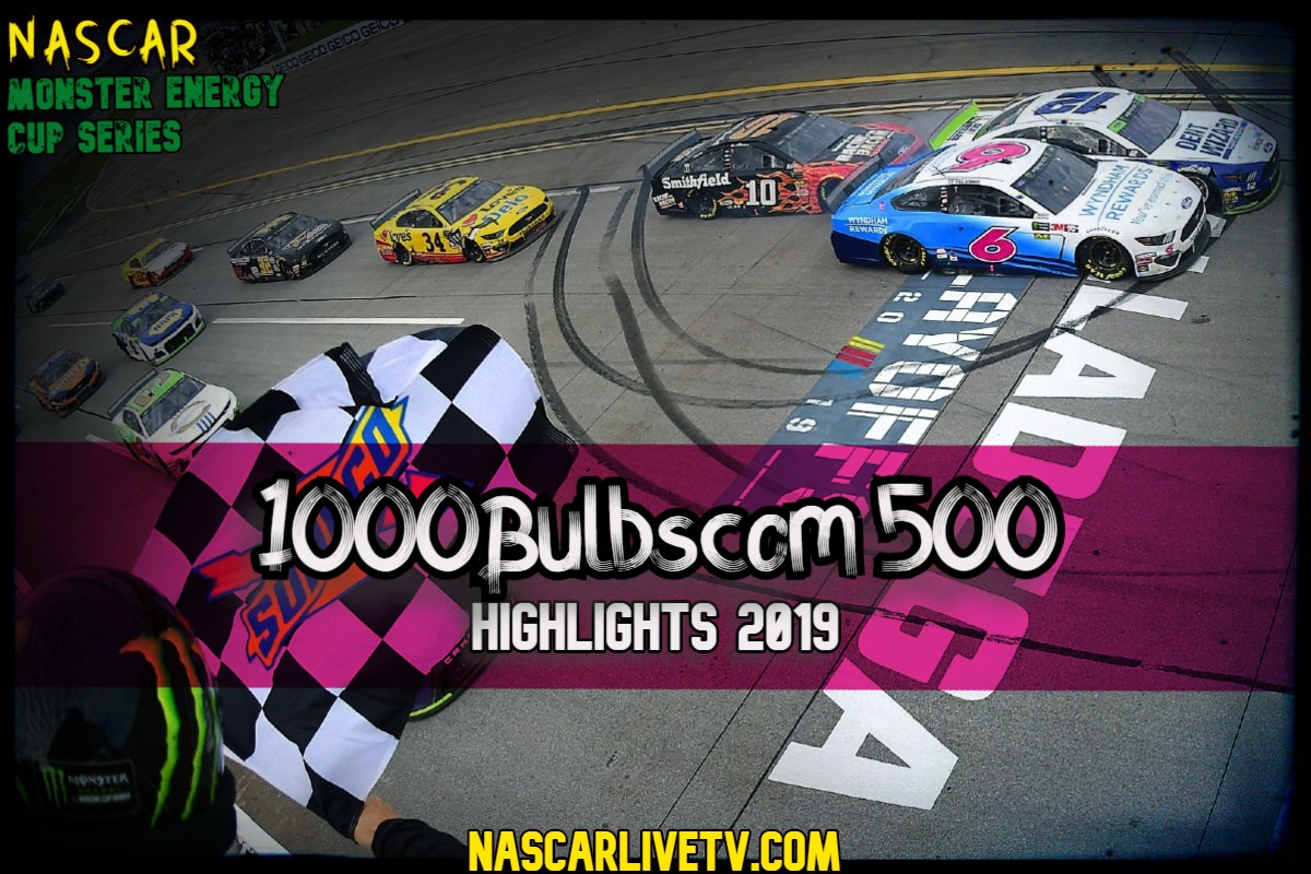 Alabama 500 NASCAR Highlights 2019
