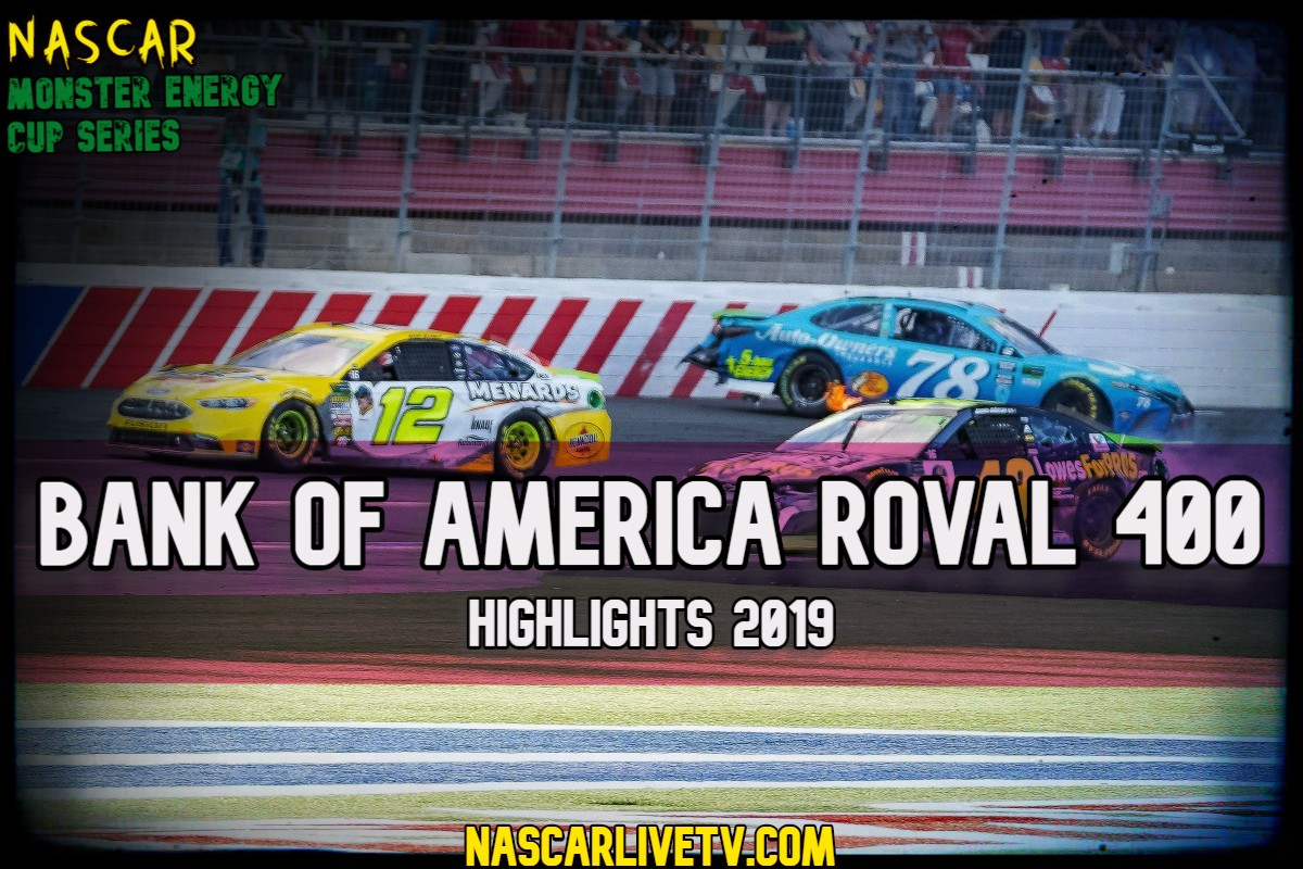Bank of America Roval 400 NASCAR Highlights 2019