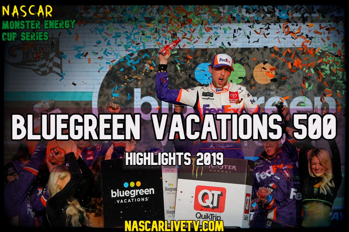 Bluegreen Vacations 500 NASCAR Highlights 2019