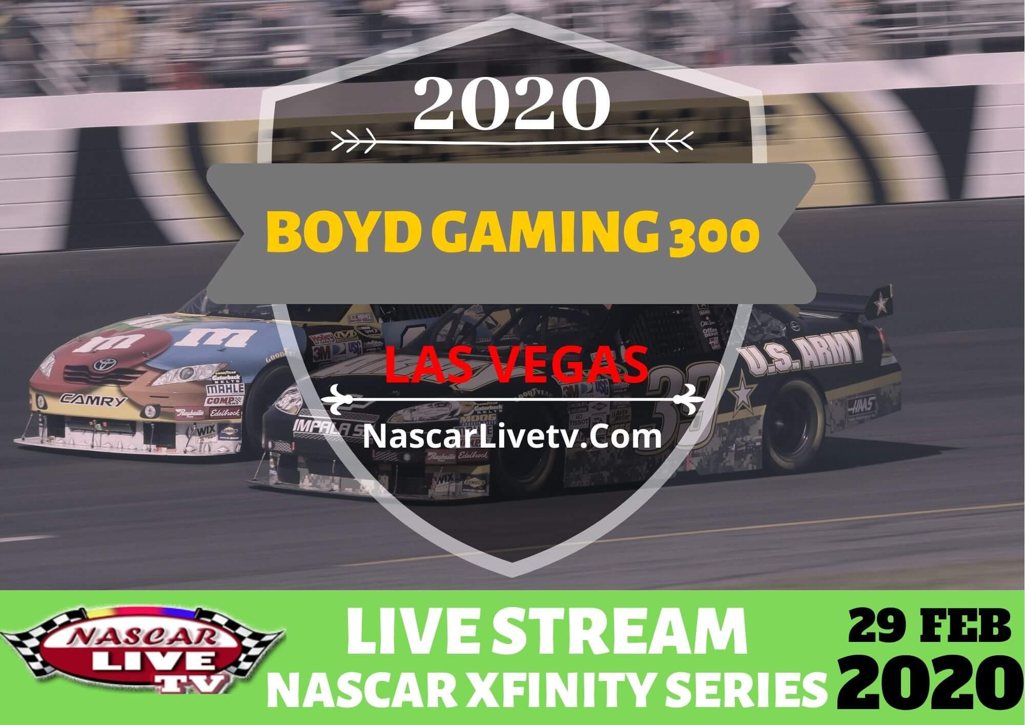 Boyd Gaming 300   NASCAR Xfinity Series