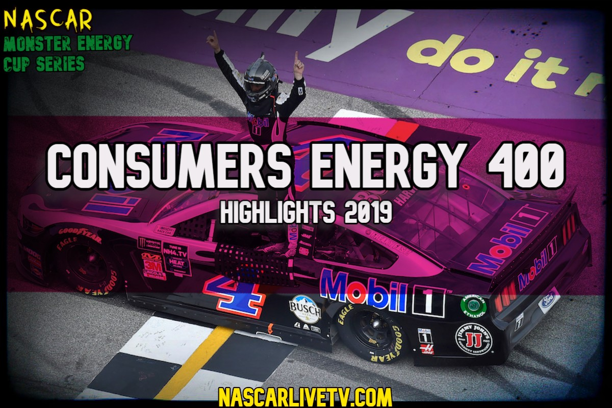 Consumers Energy 400 NASCAR Highlights 2019