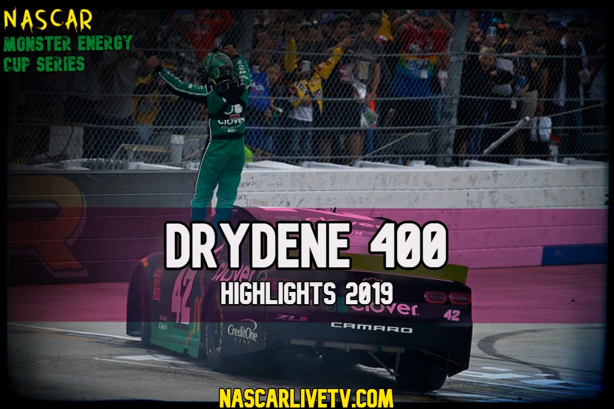 Drydene 400 NASCAR Highlights 2019