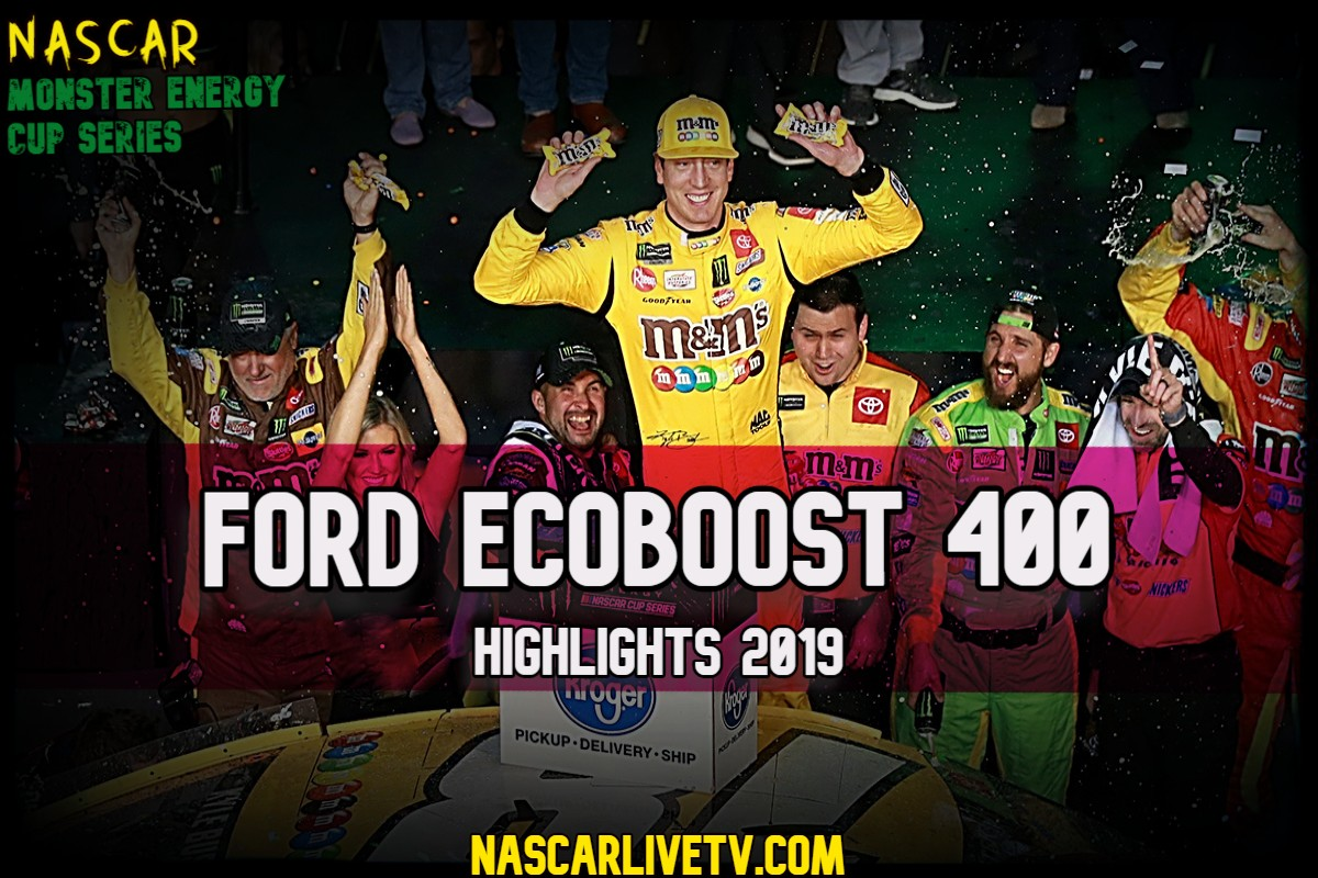 Ford EcoBoost 400 NASCAR Highlights 2019