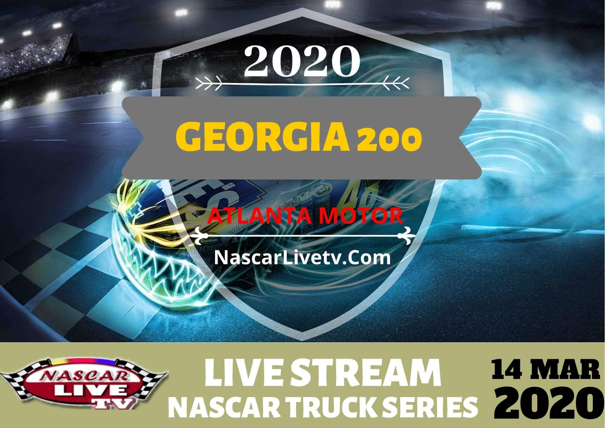 NGOTS Georgia 200 Live Stream 2020