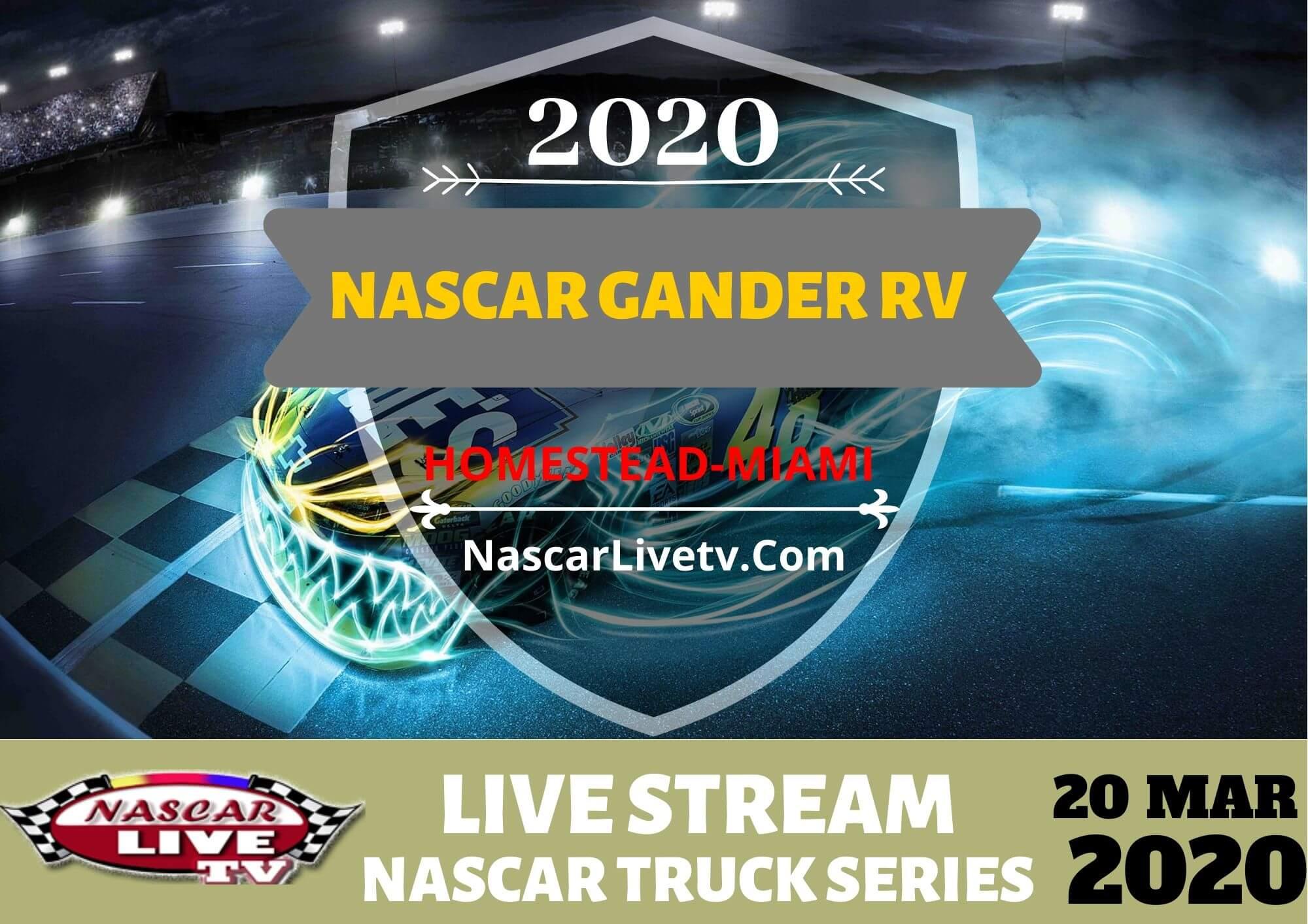 NGOTS NASCAR Gander RV Live Stream 2020