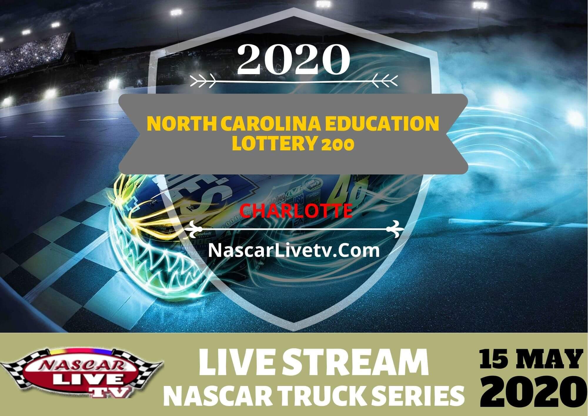 NGOTS North Carolina Education Lottery 200 Live Stream 2020