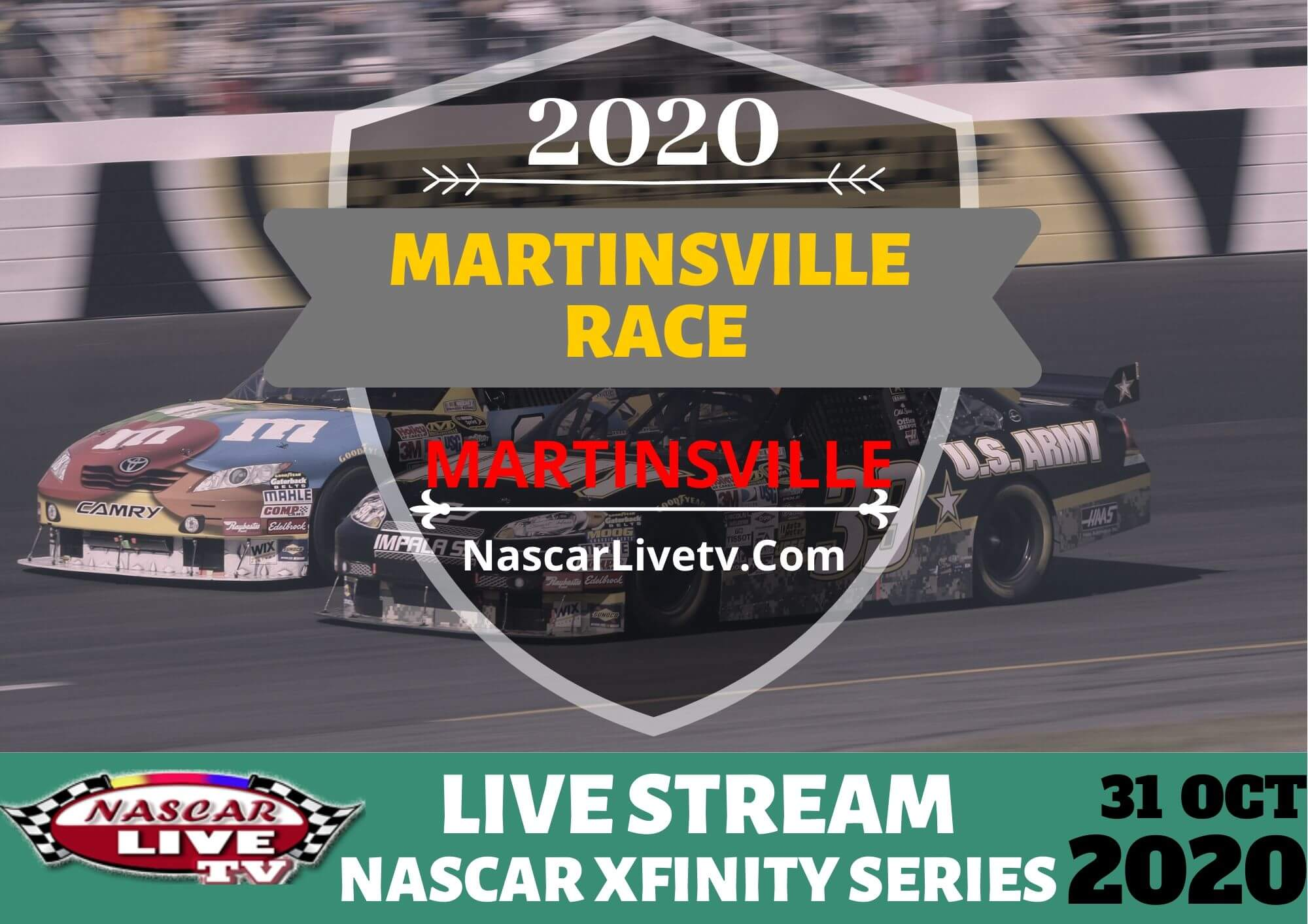NXS  Race at Martinsville Live Stream 2020