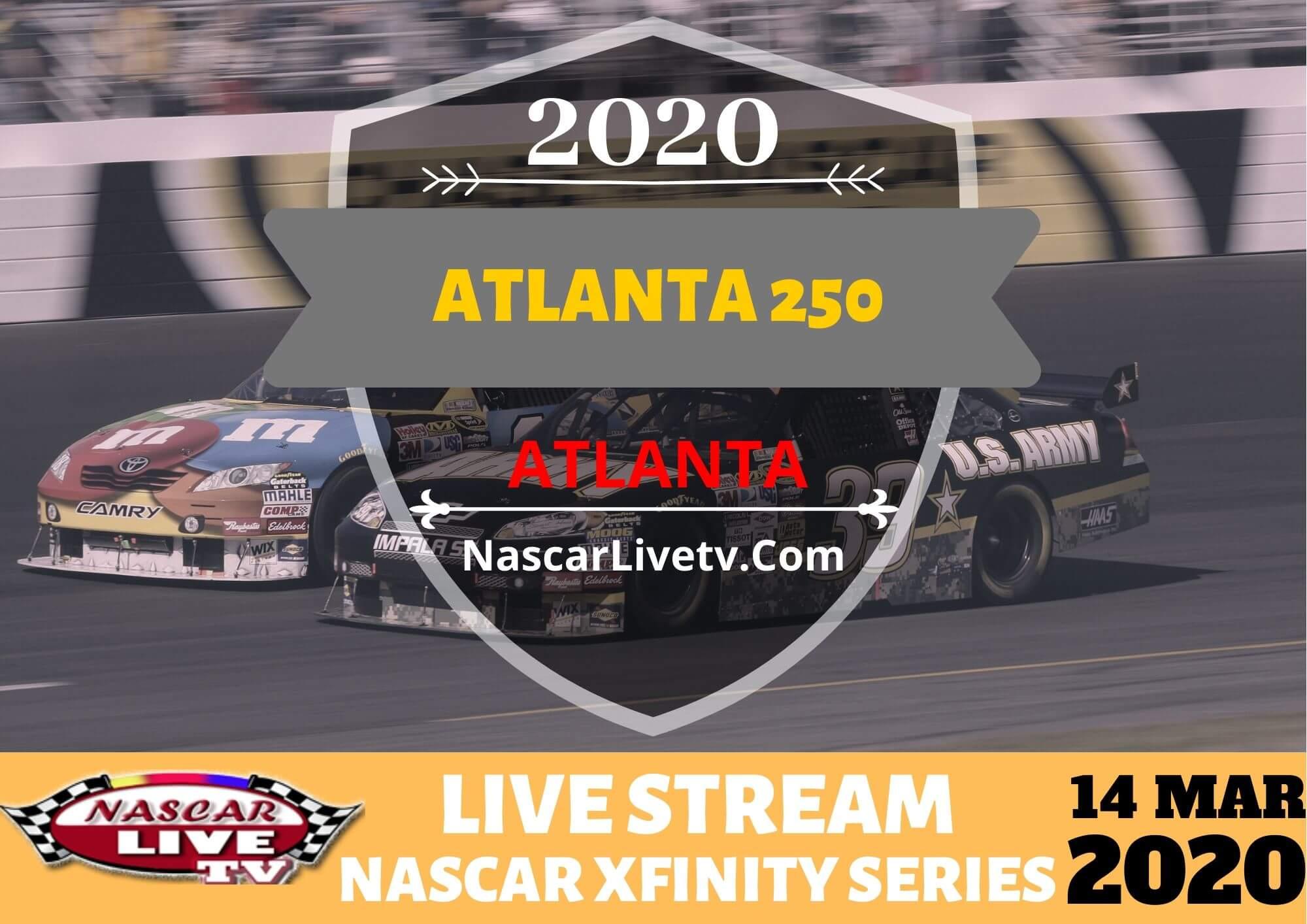 NXS Atlanta 250 Live Stream 2020