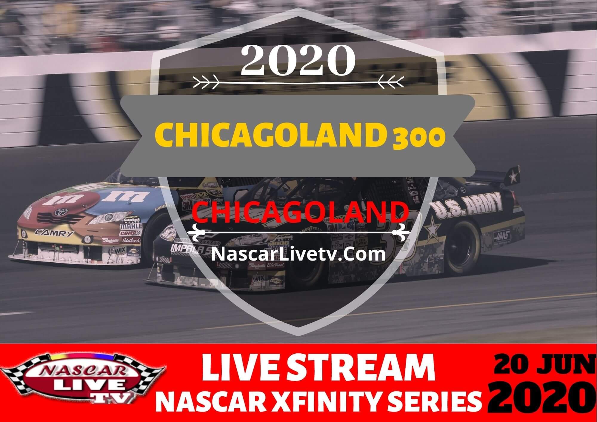 NXS Chicagoland 300 Live Stream 2020