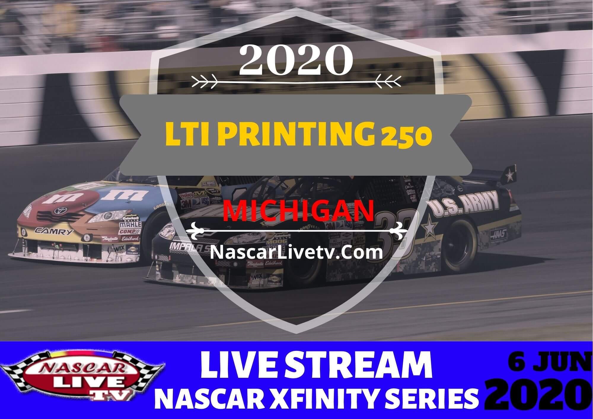 NXS LTi Printing 250 Live Stream 2020