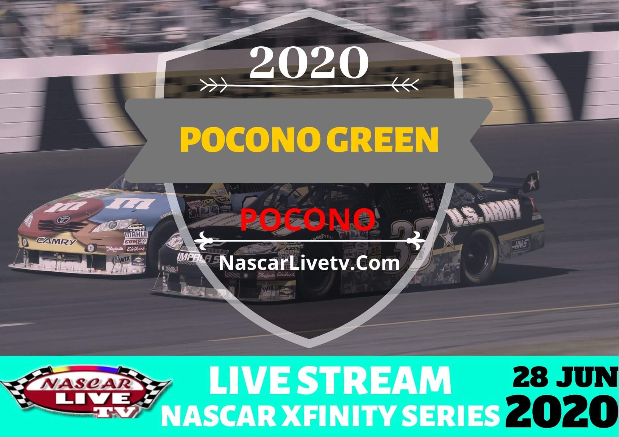 NXS Pocono Green 225 Recycled by J.P. Mascaro & Sons Live Stream 2020