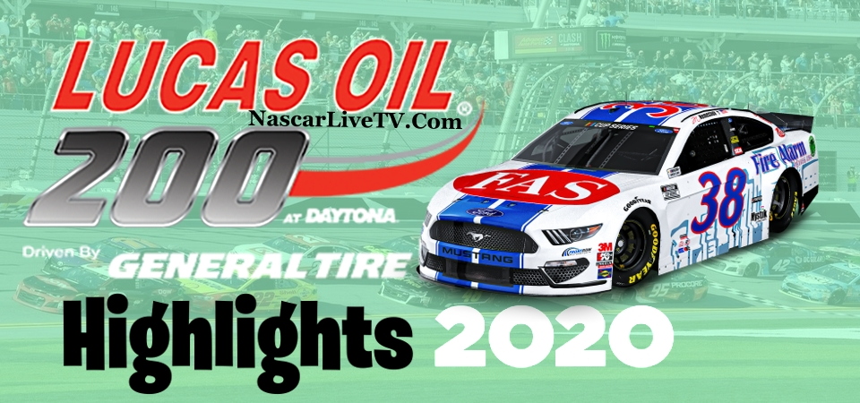 Lucas Oil 200 ARCA Daytona Highlights 2020