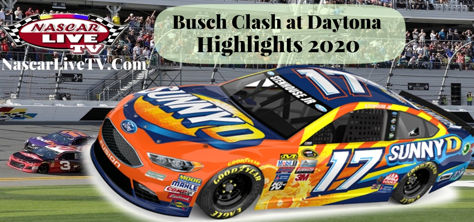 Busch Clash Daytona Highlights 2020