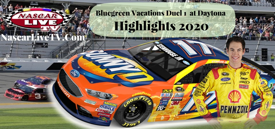 Bluegreen Vacations Duel 1 At Daytona Highlights 2020