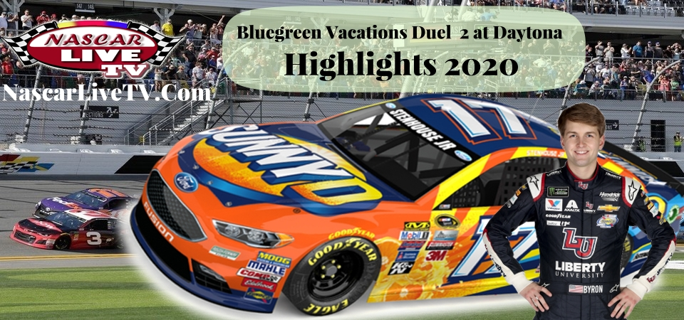 Bluegreen Vacations Duel 2 At Daytona Highlights 2020