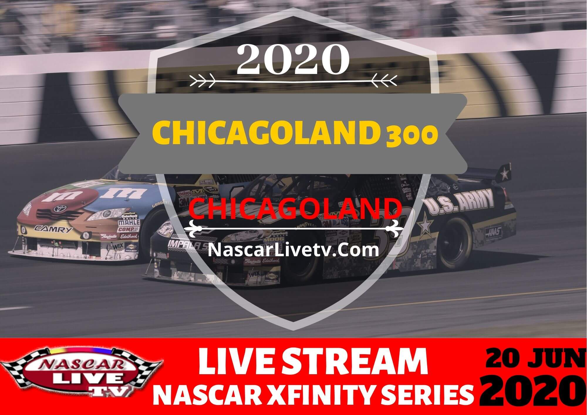 NXS Chicagoland 300 Live Stream 2020