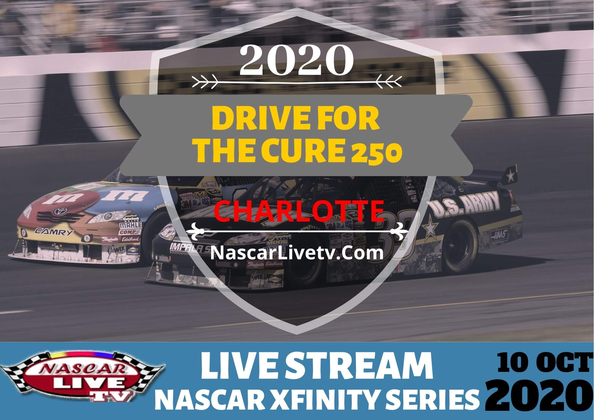 Drive for the Cure 250 Practice 1 Live Stream 2020 | NXS