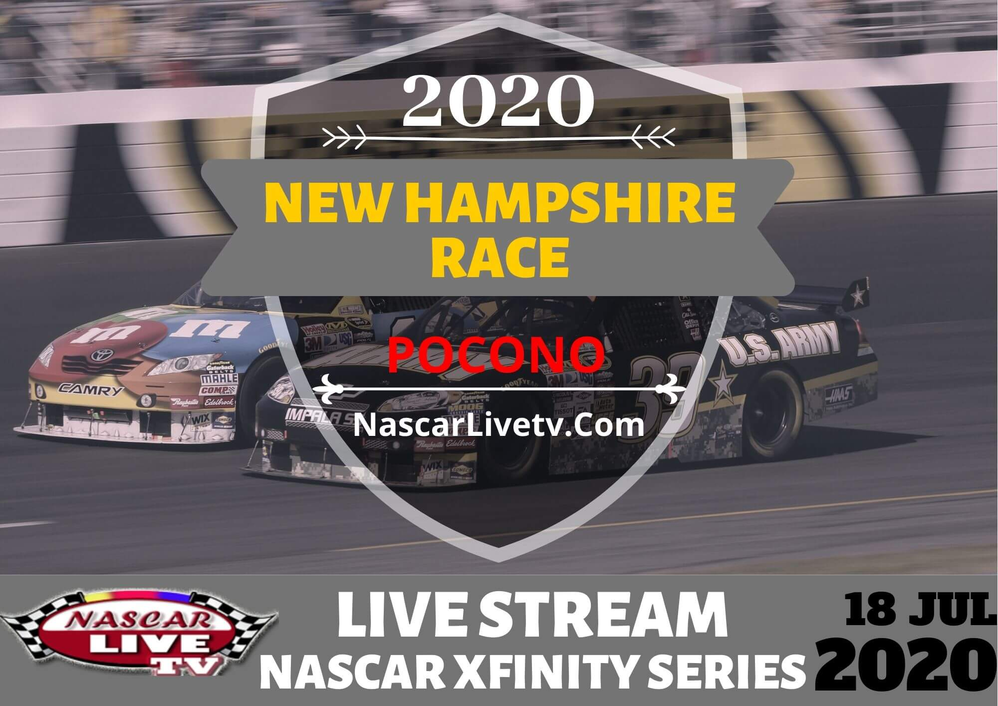 NASCAR Xfinity Series At New Hampshire Practice 1 Live Stream 2020