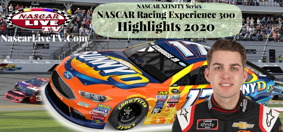 NASCAR Racing Experience 300 Xfinity Series Highlights 2020