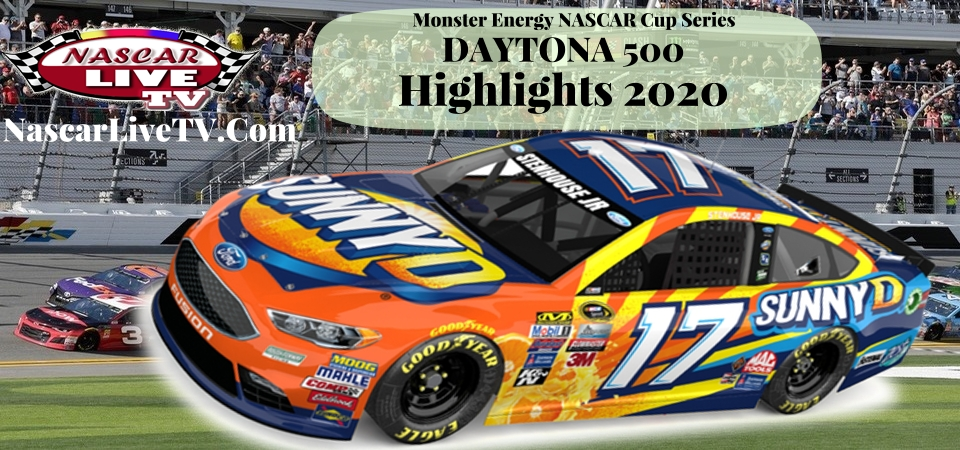 NASCAR Daytona 500 Highlights 2020