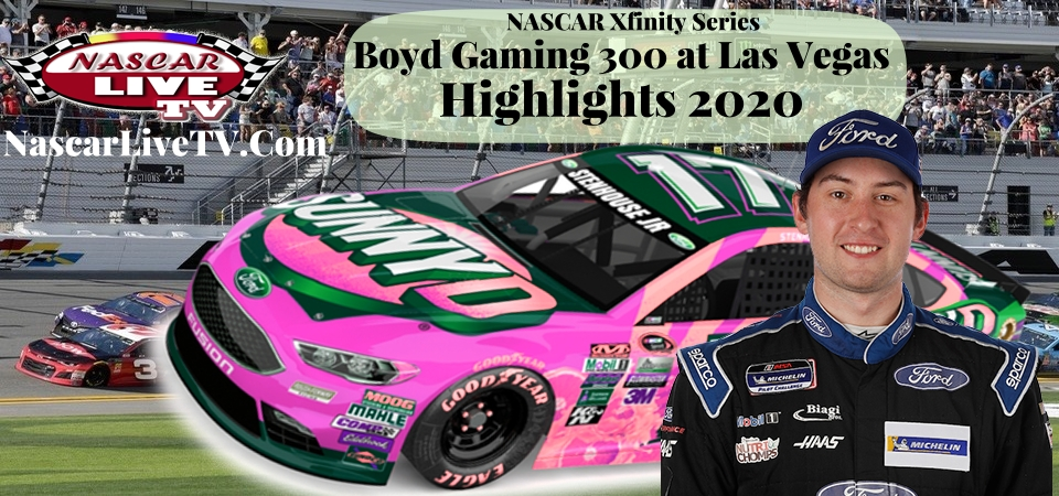 Boyd Gaming 300 Xfinity Series Extended Highlights 2020