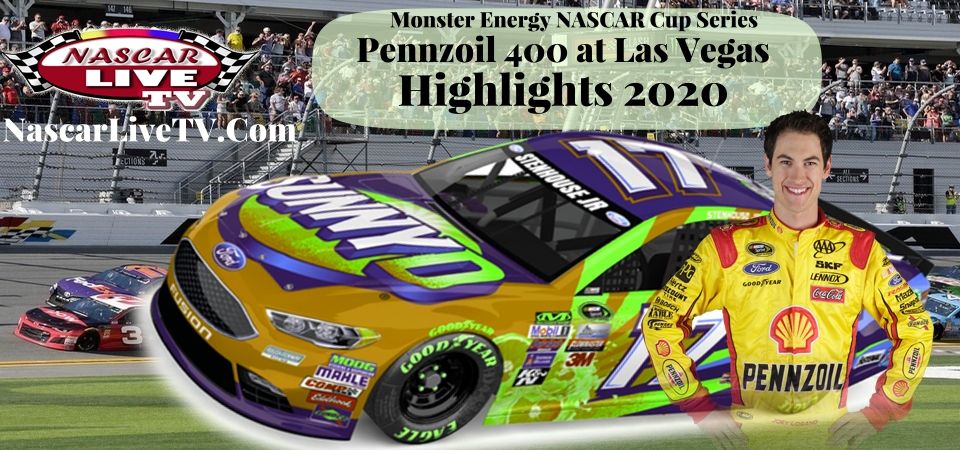 Pennzoil 400 NASCAR Cup Series Extended Highlights 2020
