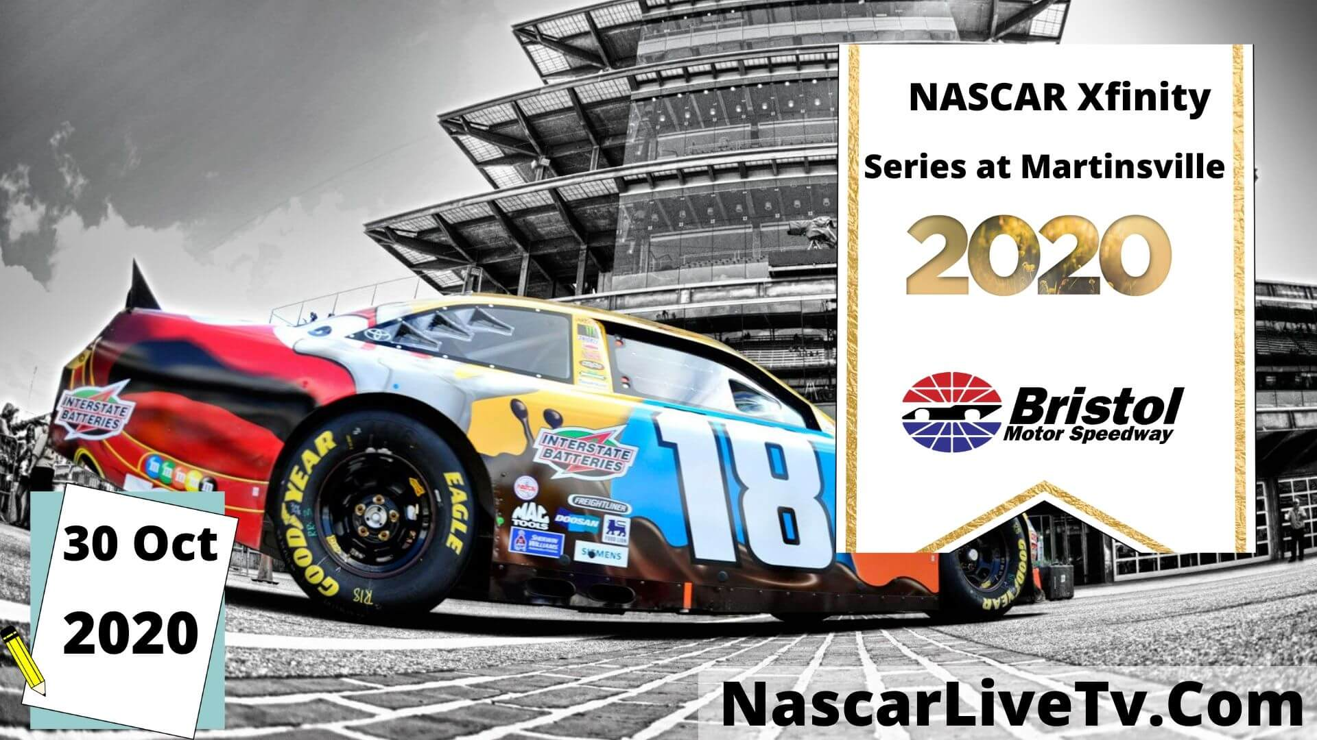NASCAR Xfinity Series at Martinsville Qualifying 1 Live Stream 2020