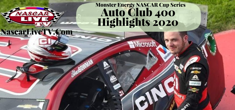 NASCAR Auto Club 400 Extended Highlights 2020