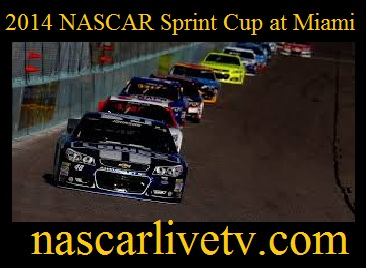 2014 NASCAR Sprint Cup at Miami