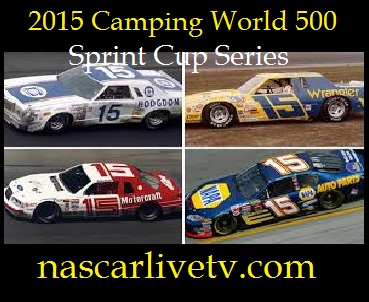 Camping World 500 Sprint Cup Series