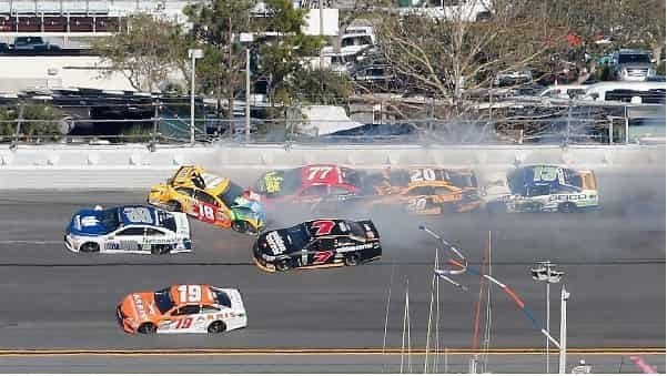2017 Top Ten NASCAR Crashes