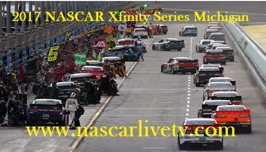 2017 NASCAR Xfinity Series Michigan live