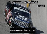 2018 Stratosphere 200 NASCAR Truck Series Live