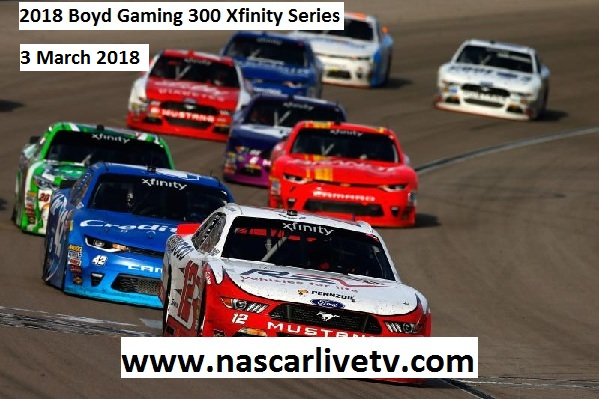 2018 Boyd Gaming 300 Xfinity Series