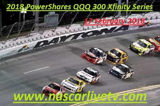 2018 PowerShares QQQ 300 Xfinity Series