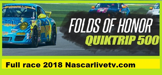 Monster Energy NASCAR Cup Series-Folds of Honor QuikTrip 500 Complete Race 2018