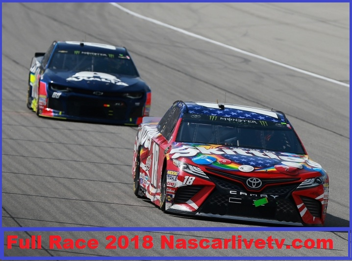 Monster Energy NASCAR Cup Series-Overtons 400-COMPLETE-RACE-2018