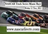 NASCAR Truck Series Miami Race Live