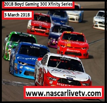NASCAR Xfinity Series-Boyd Gaming 300 Complete Race 2018