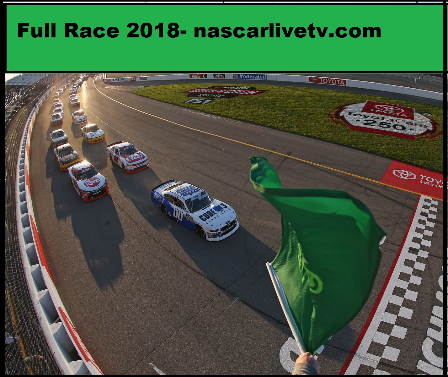 NASCAR Xfinity Series-ToyotaCare 250 COMPLETE RACE 2018