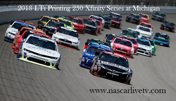 Watch LTi Printing 250 Xfinity Series 2018 Live