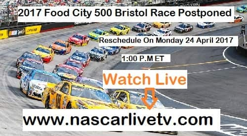NASCAR Food City 500 Bristol race live