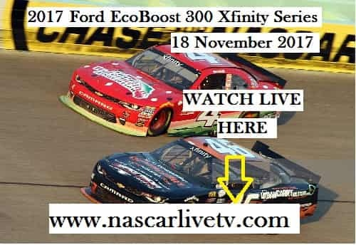 Ford EcoBoost 300 Xfinity Series