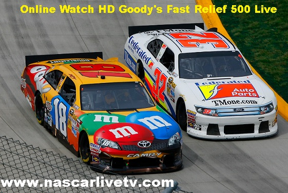 Goodys Fast Relief 500 Live