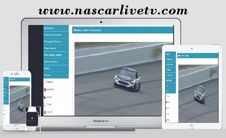 How to Watch NASCAR Live in iPad, iPhone